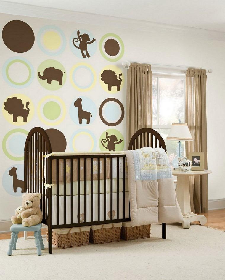 Decoraci n habitaciones de bebe preciosas - Dibujos habitacion bebe ...