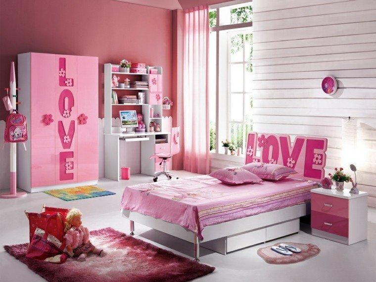 habitacion chica respaldo cama interesante ideas