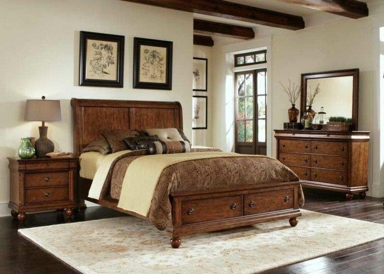 Habitacion dise o r stico 50 ideas para vivir lo natural for Dormitorios matrimoniales rusticos