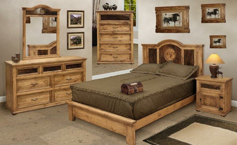 Log Cabin Style Bed Frames