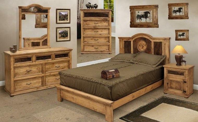 habitacion diseño muebles caballo cuadros