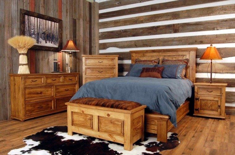 Habitacion dise o r stico 50 ideas para vivir lo natural - Diseno de una habitacion ...