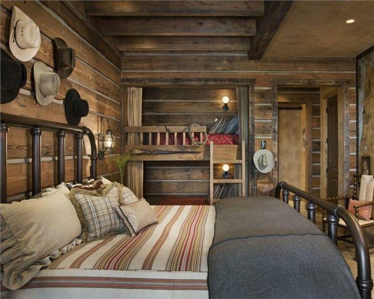 Dormitorios De Matrimonio Estilo Rustico : Habitacion diseño rústico ideas para vivir lo natural