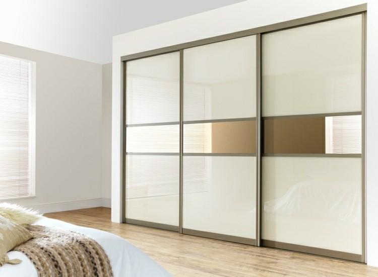 Puerta corredera 50 modelos para un espacio funcional for Closet habitaciones modernas