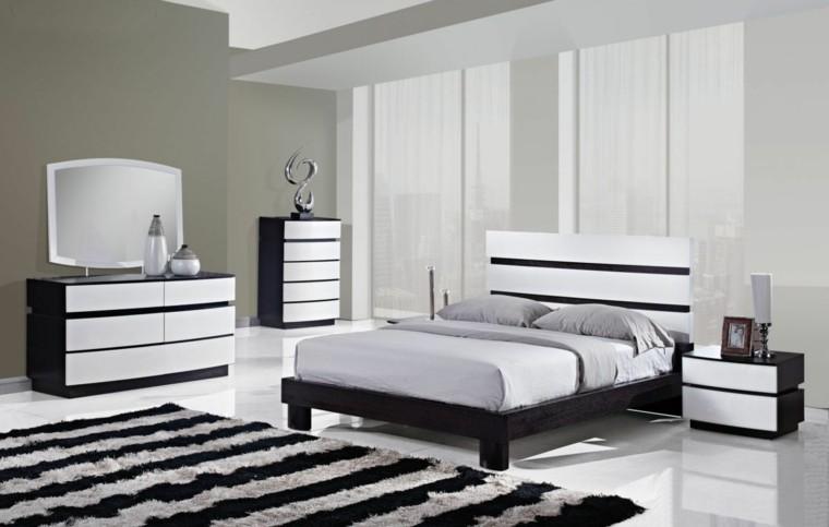 habitacion mesa noche lamparas dormitorio