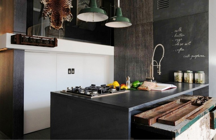 25 ideas de cocinas perfectas para los hombres modernos for Ideas diseno cocina
