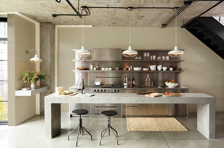 Dise o industrial cocinas modernas y originales for Cocinas originales diseno