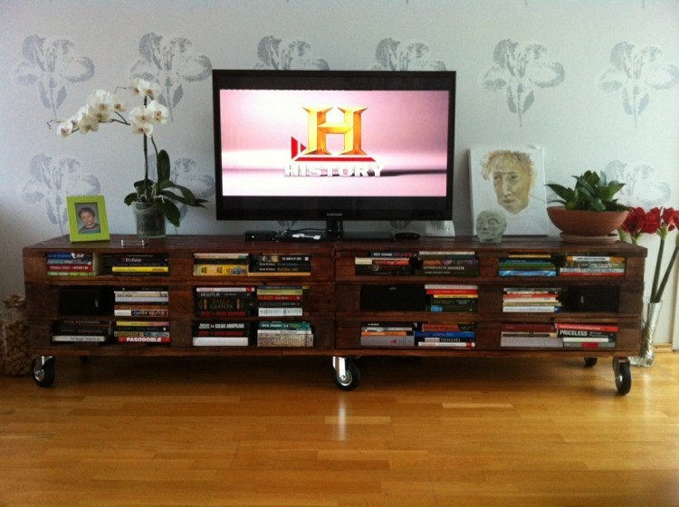 idea casera mueble salon palet