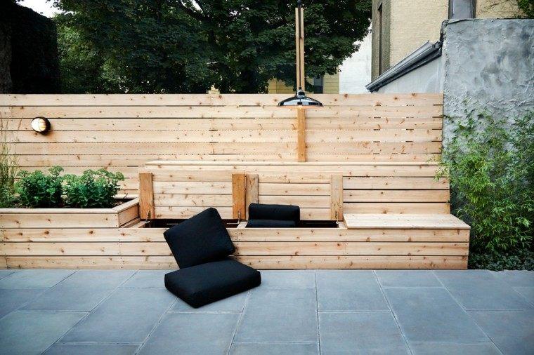 ideas contemporaneas jardin lugar descanso ideas