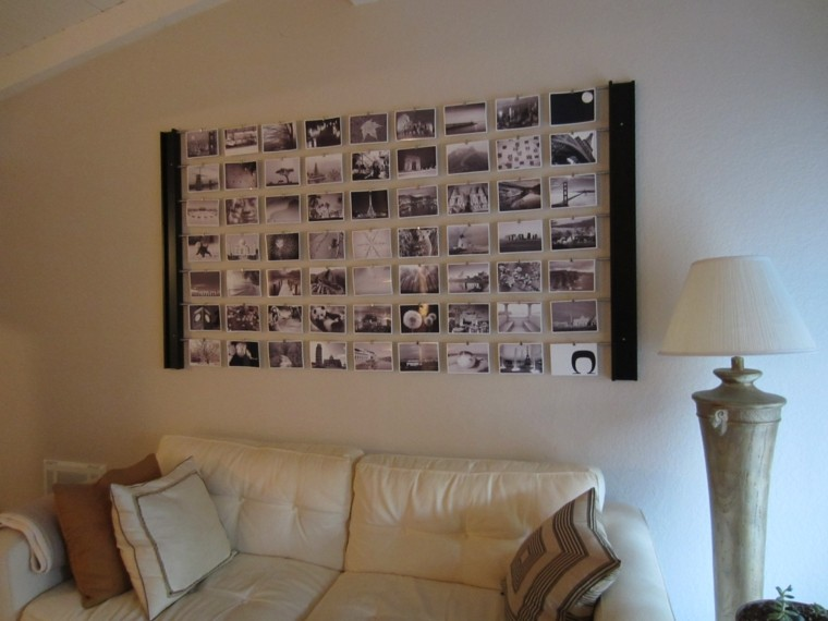 ideas decoracion diy imagenes lampara mural