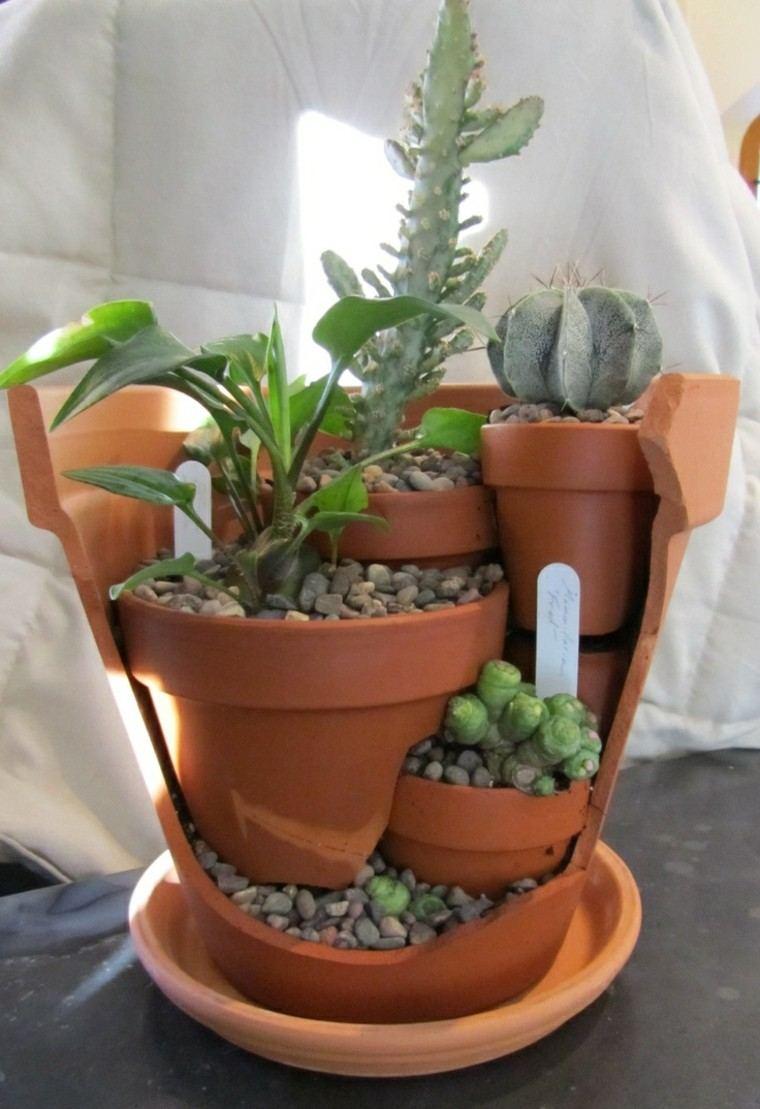 Ideas decoracion diy 100 propuestas que no debes ignorar for Decoracion jardin macetas