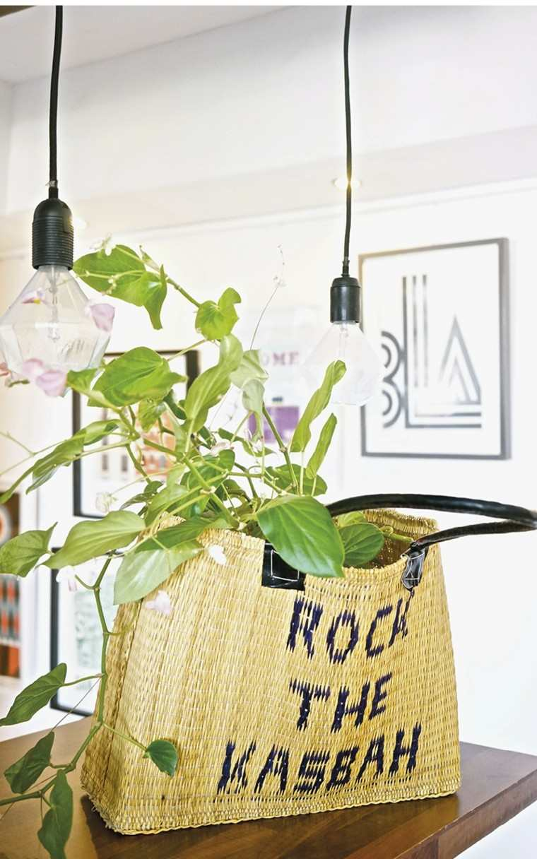 ideas decoracion diy planta interiores cartera