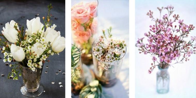 ideas diy flores jarron variaciones