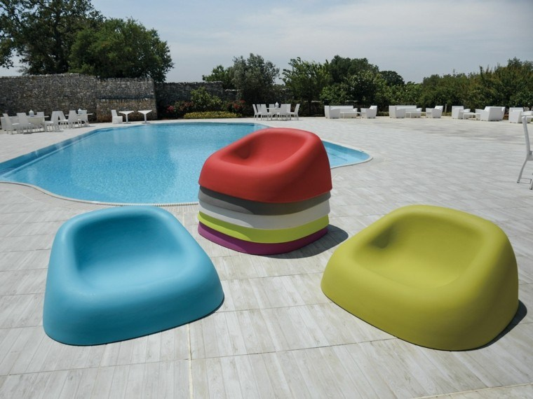 ideas estilo patio colores vibrantes modernos