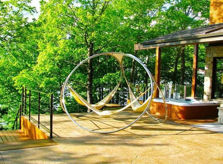 Muebles de jardín hamacas para tu espacio al aire libre -