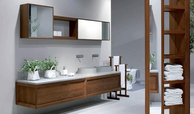 cómo decorar un baño interesantes plantas bano moderno ideas