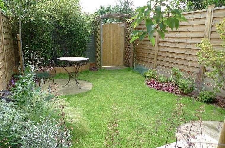 ideas creativas jardines peque os muy modernos