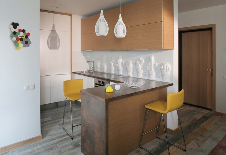 Juegos de cocina muebles muy modernos e interesantes Cocinas muy pequenas