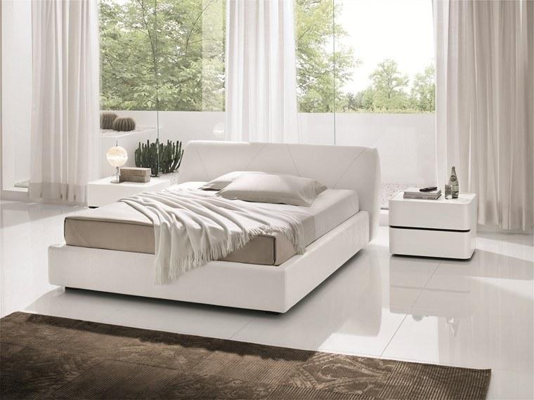 ideas para decorar dormitorios muebles blancos modernos