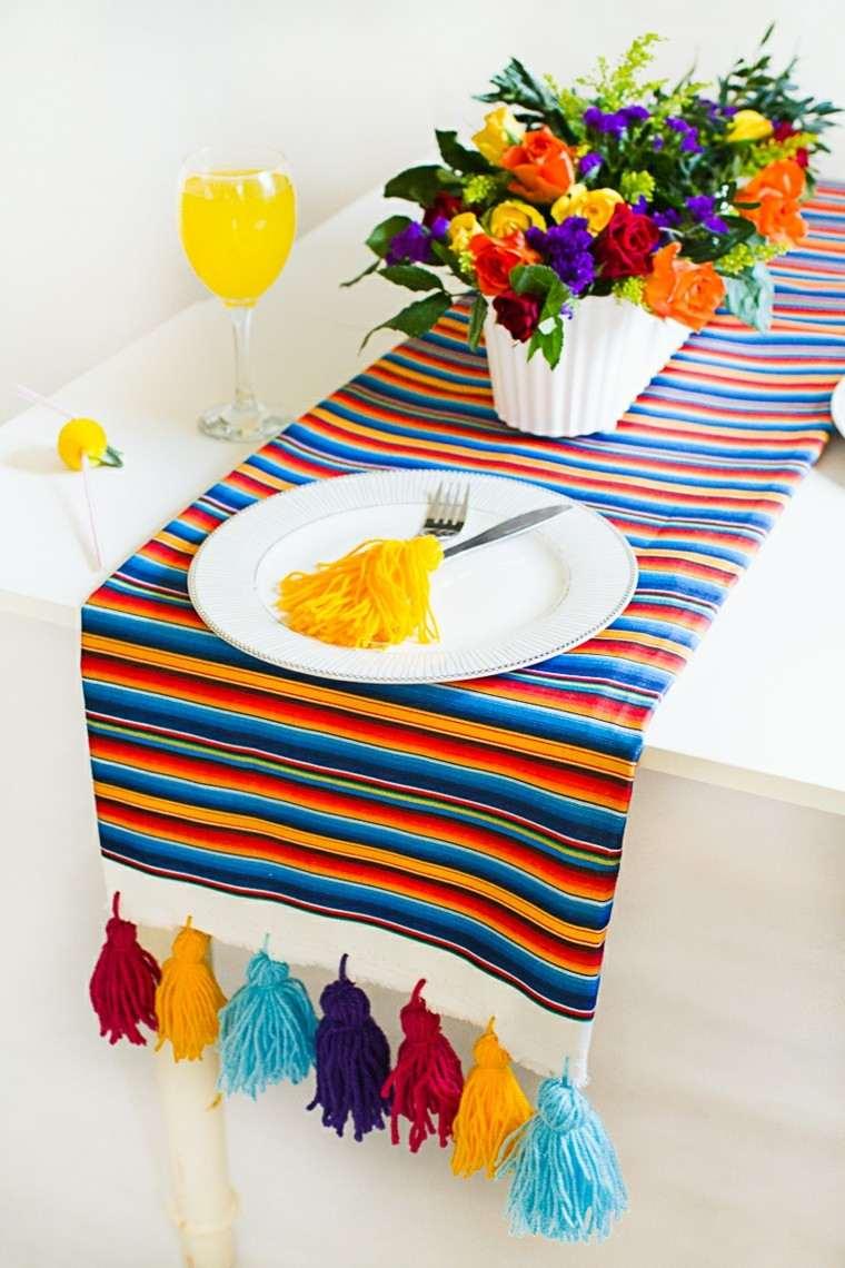 inspiracion mexico mesa decorada flores ideas