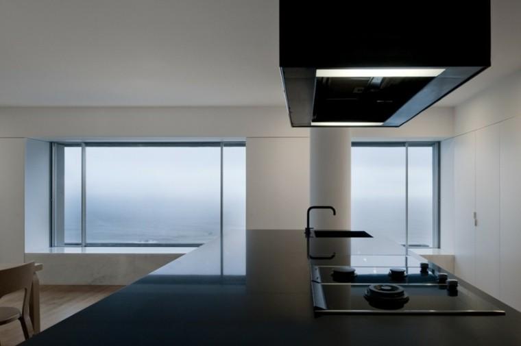 interior diseño apartamento silla minimalista