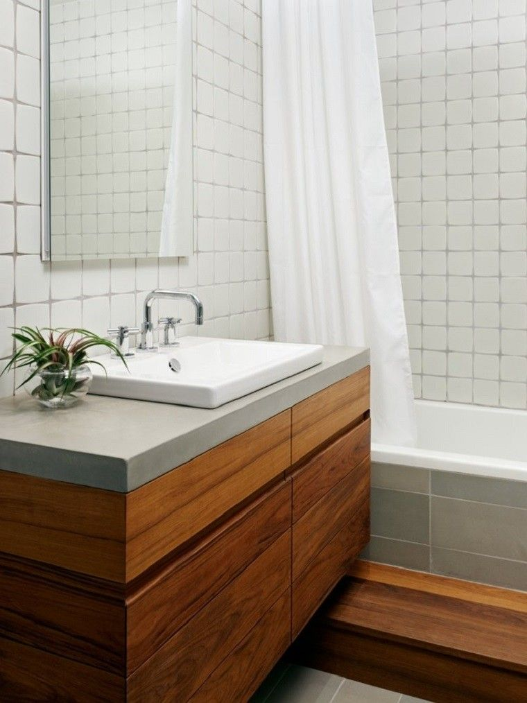 Interiores minimalistas ba os modernos y elegantes for Banos interiores