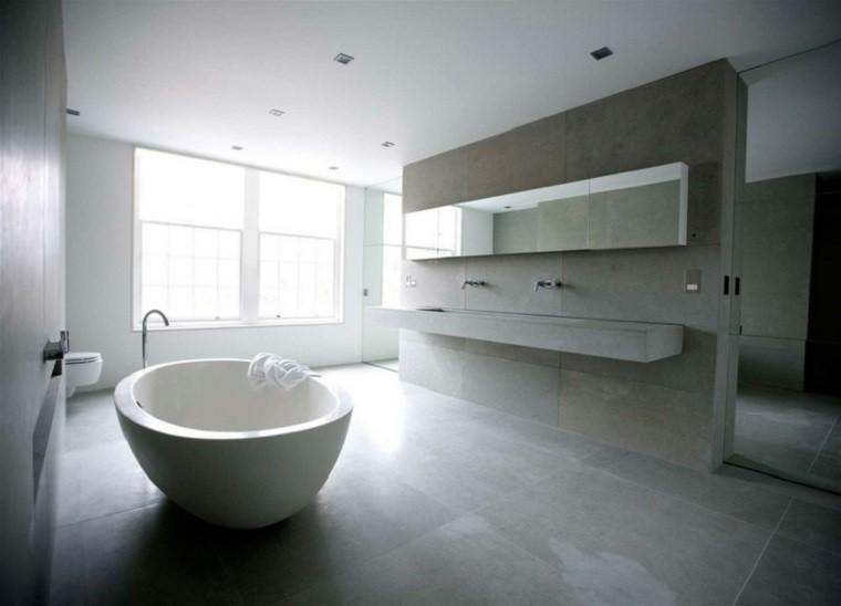 interiores minimalistas baos modernos diseno ideas - Diseo Minimalista