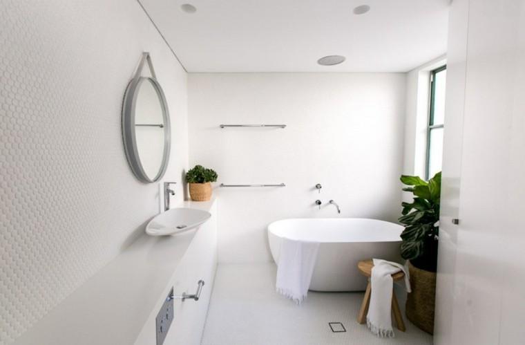 interiores minimalistas banos modernos plantas ideas