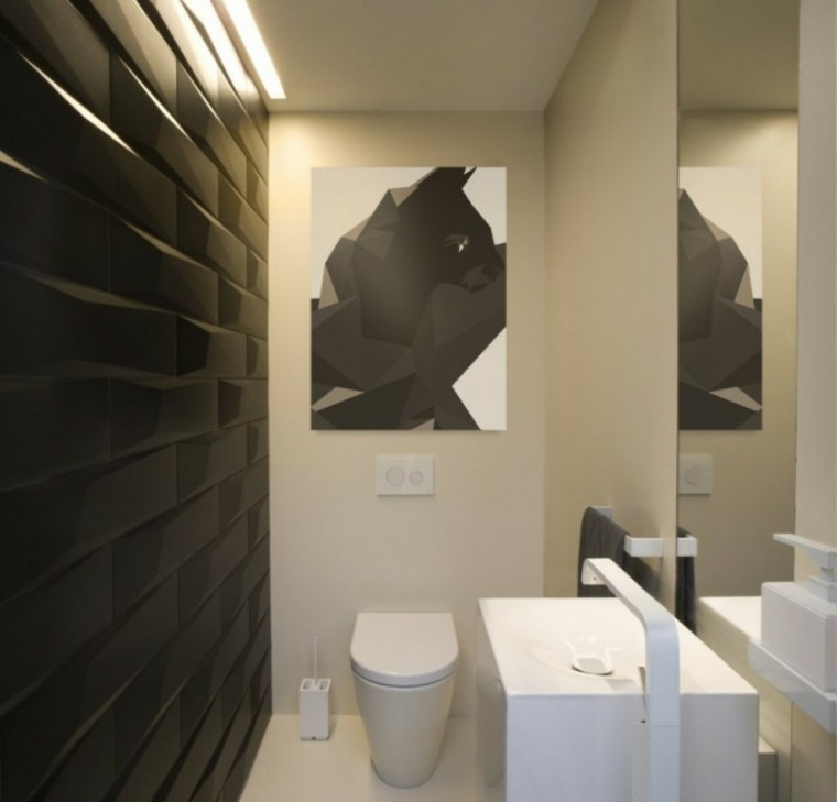 decoracion de interiores baños minimalistas ~ dikidu.com - Decoracion De Interiores Banos Pequenos
