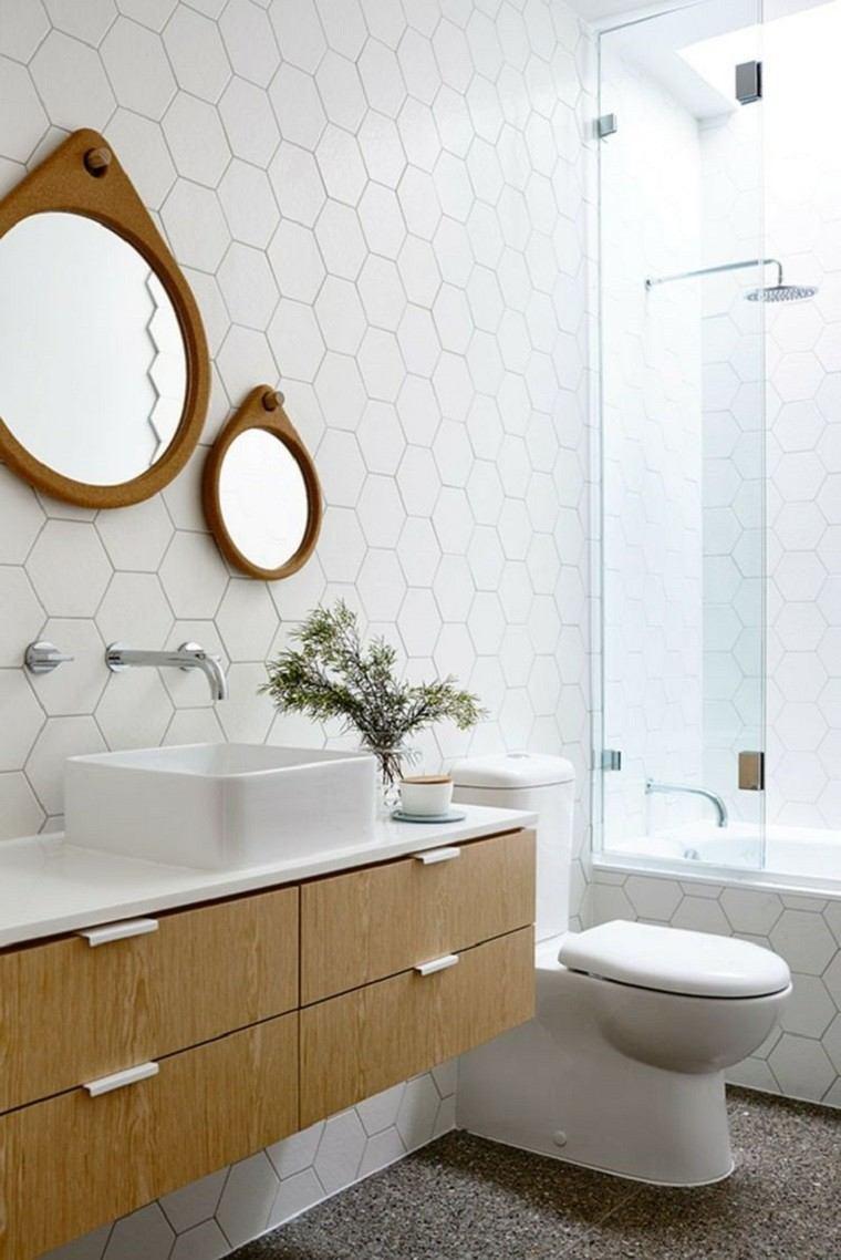Baños Elegantes Modernos:Interiores minimalistas baños modernos ideas para espejo