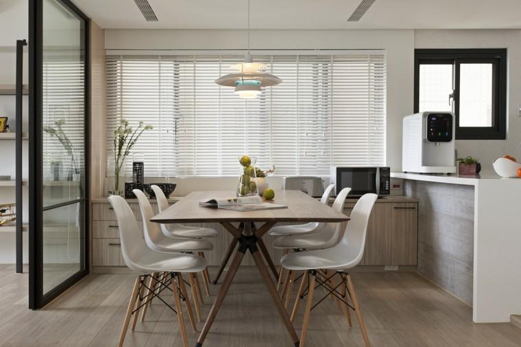 Interiores minimalistas 2 ideas de dise o asiatico for Comedor moderno minimalista