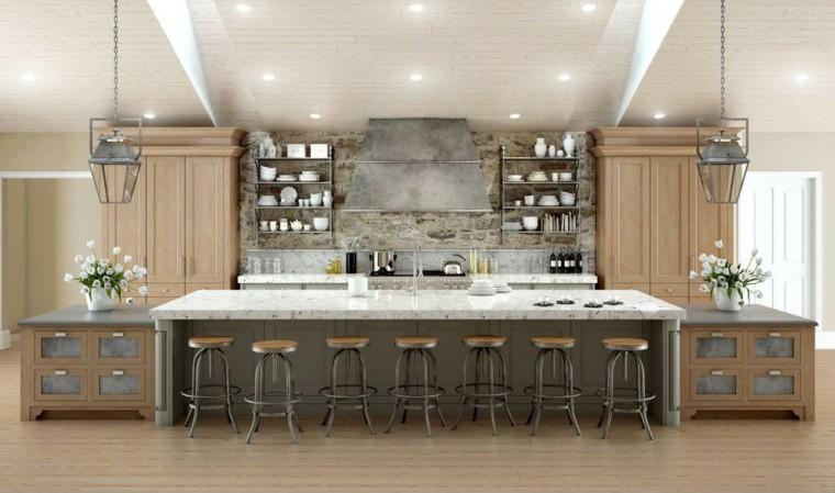 Islas Cocinas Con Estilo 25 Ideas De Lujo Preciosas