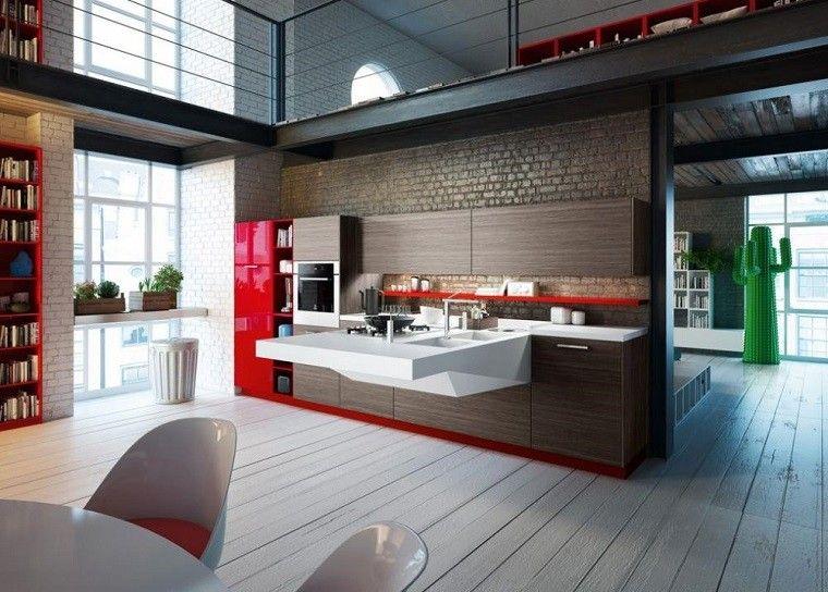 italiana variante rojo color ladrillos