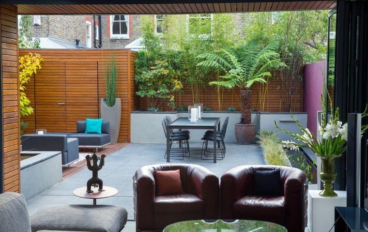 Paisajismo contempor neo 75 ideas para dise ar su jard n for Muebles jardin exterior modernos