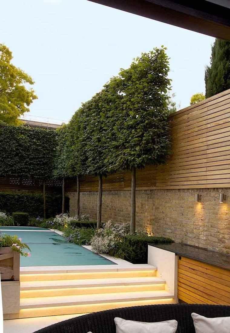 Ideas creativas jardines peque os muy modernos for Arboles para jardines pequenos