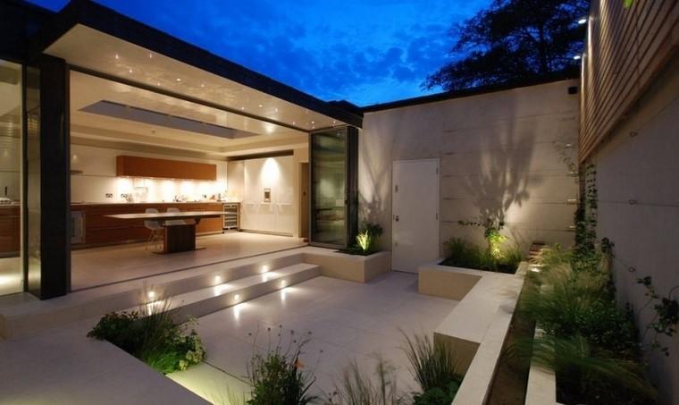 Ideas creativas jardines peque os muy modernos - Jardines modernos minimalistas ...