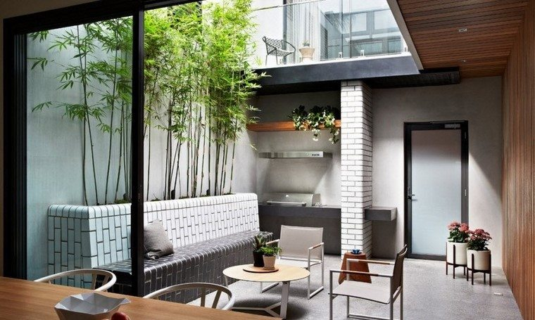 Ideas creativas jardines peque os muy modernos for Macetas interiores decoracion