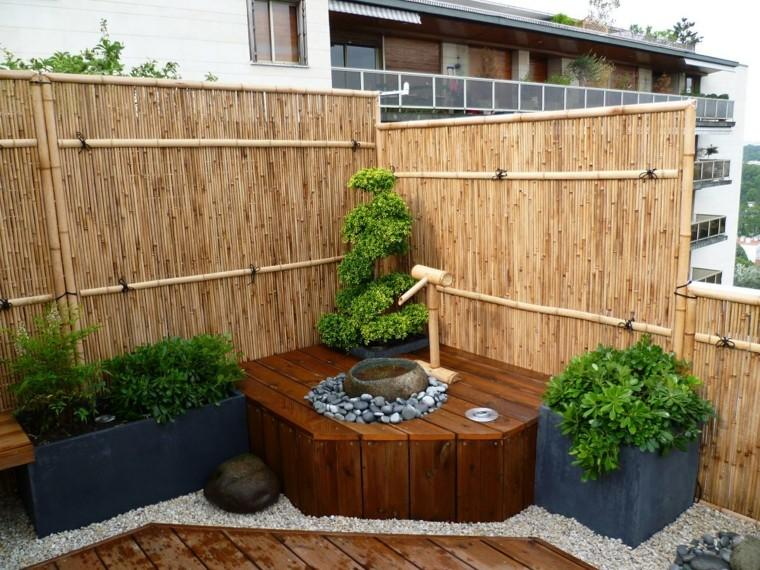 Dise o de jardines peque os grandes ideas para el jard n for Fuentes para jardin pequeno