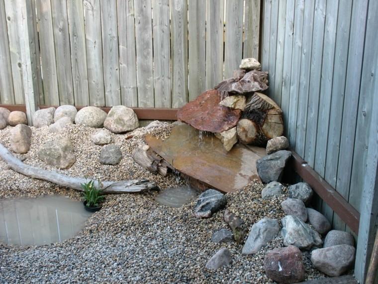 jardin seco rocalla esquina piedras