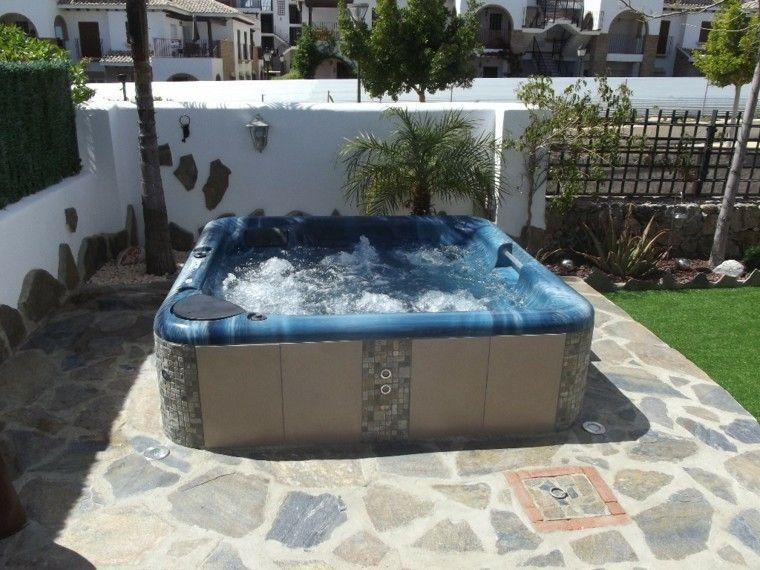 Baño De Burbujas Para Jacuzzi:Mimbre y rattan para los muebles de jardín – 100 ideas