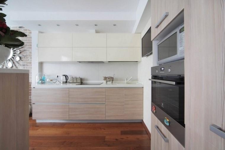 juegos de cocina muebles madera amplia ideas moderna