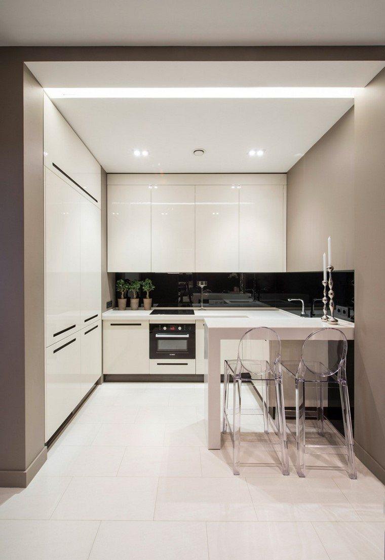 Juegos de cocina muebles muy modernos e interesantes for Sillas cocina transparentes