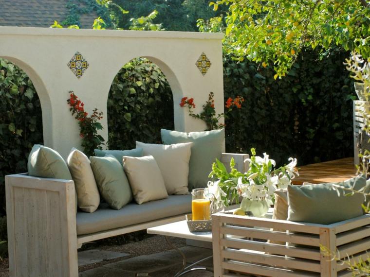 jugo verano relajacion muebles muro