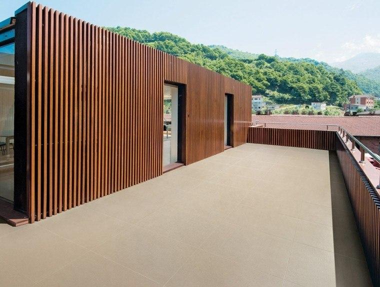 lamina madera terraza grande amplia ideas