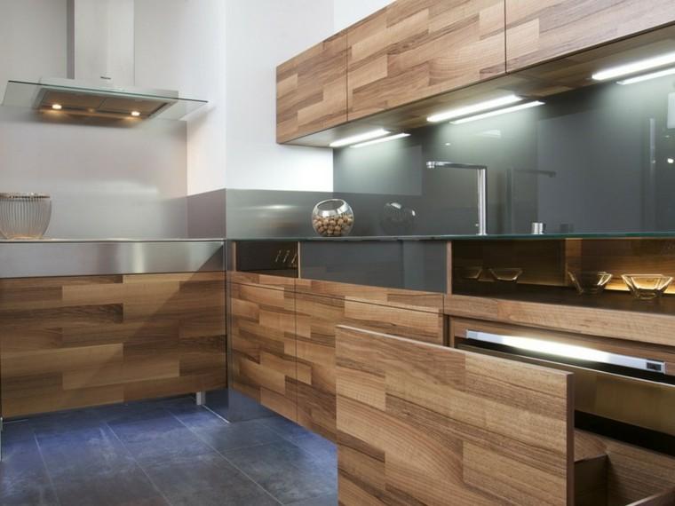muebles laminados madera estilo moderno