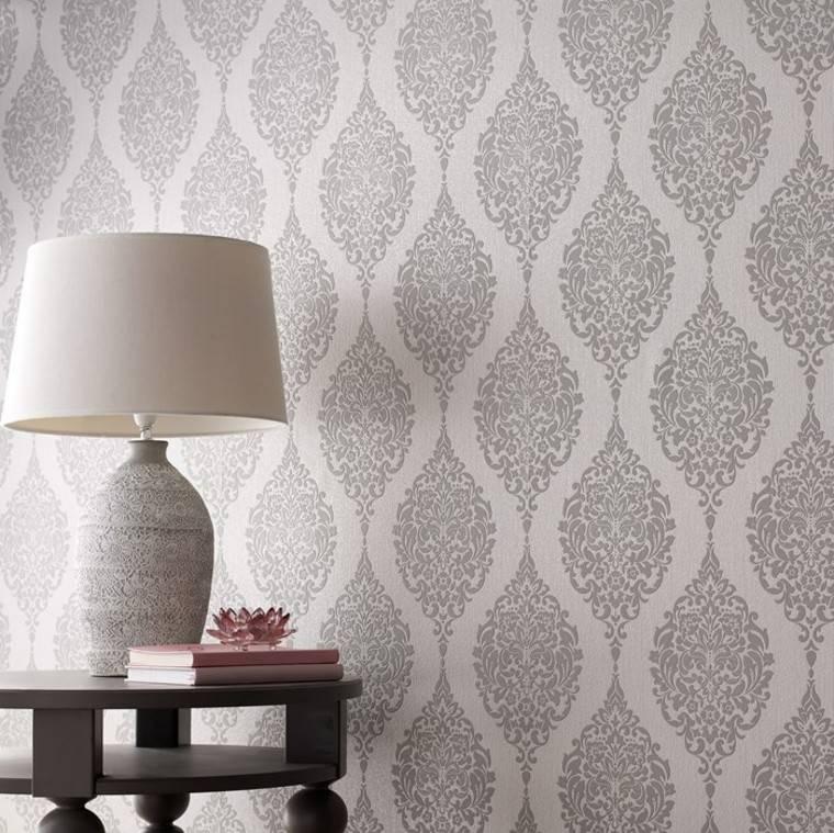 Barroco para el dise o del papel de pared muy distintivo for Papel pared salon
