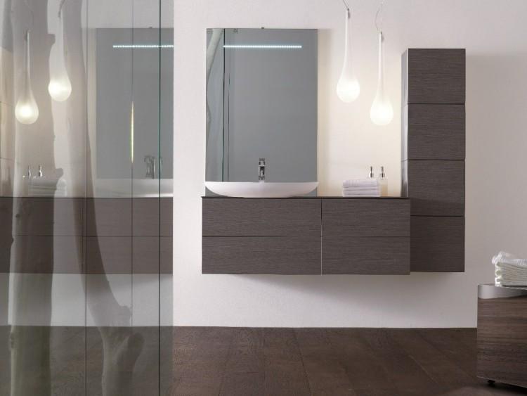 lavabo madera alto armario horizontal