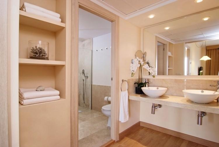 lavabo moderno color pastel lujoso