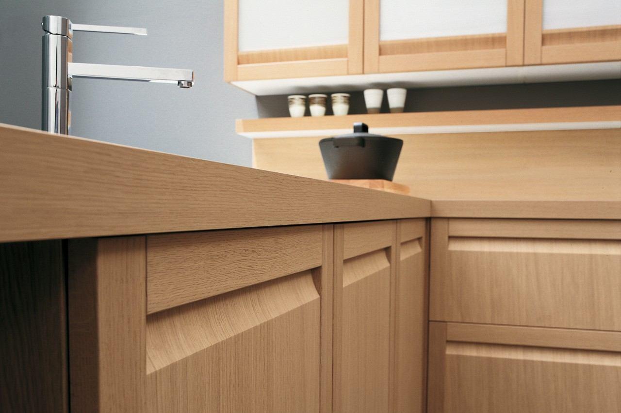 Encimeras de cocina madera maciza para la cocina -