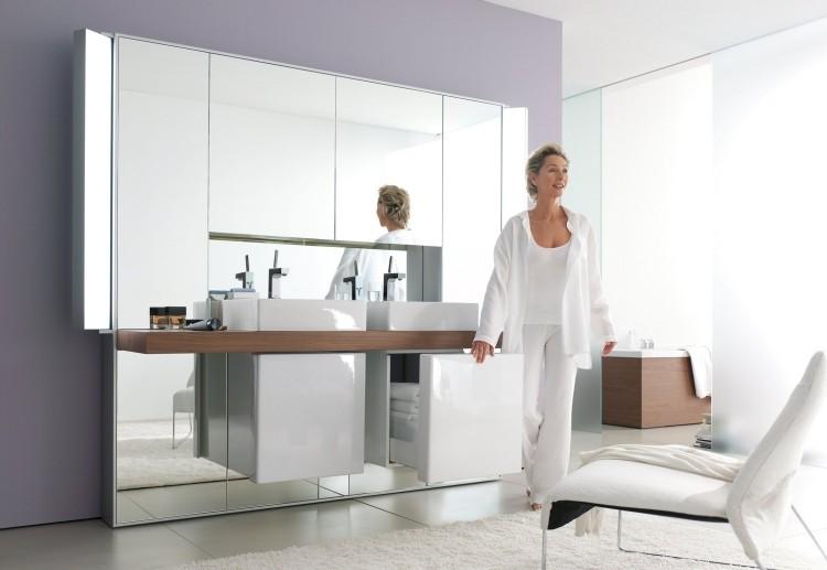 lavabos sobre encimera foto mujer